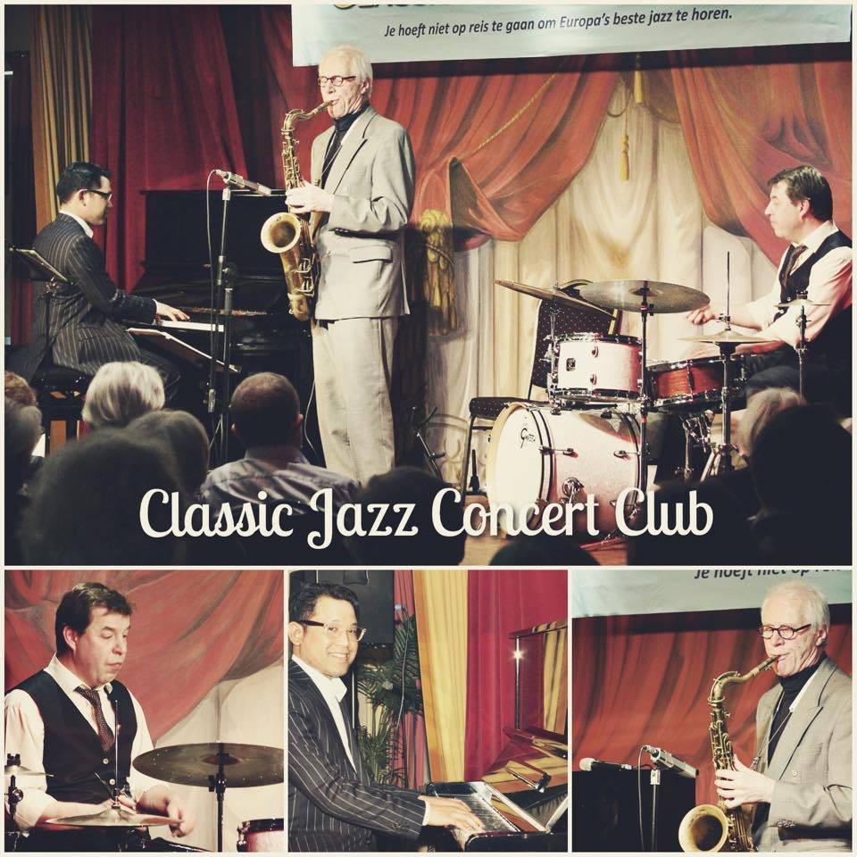 At classic jazz concert club with dolf robertus rene for Classic jazz house